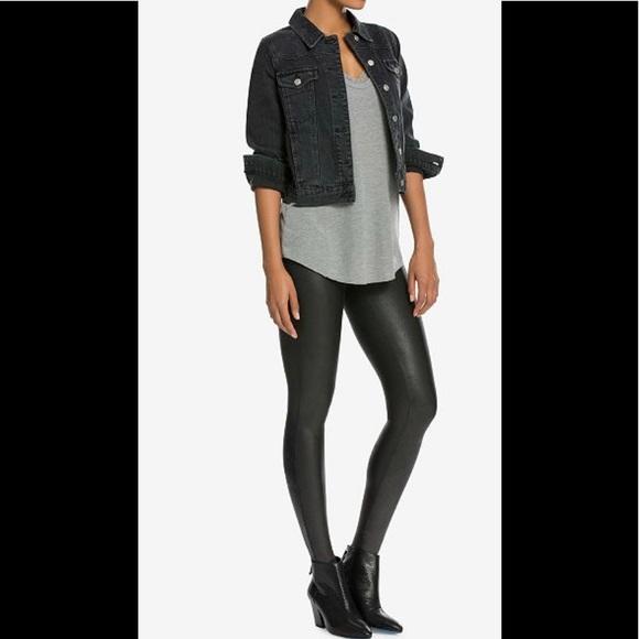 5cef75c2616f7 SPANX Pants | Nwt Petite Faux Leather Legging Small | Poshmark